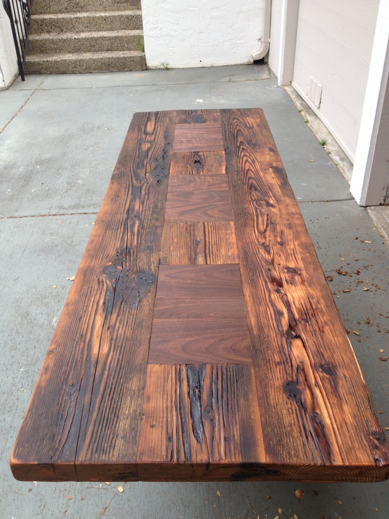Oiled and hand rubbed historic Douglas Fir  www.thecoastalcraftsman.com
