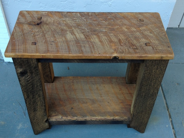 Small Barnwood Table