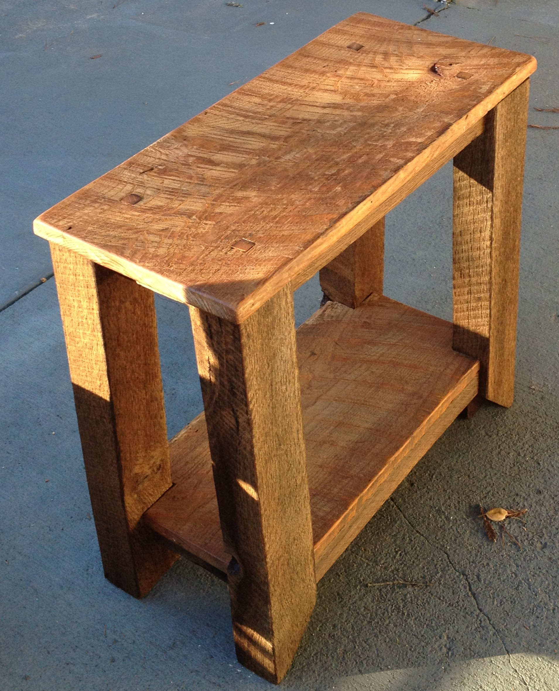 how to build a barnwood table