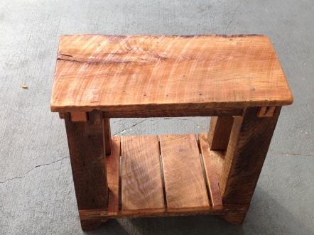 Reclaimed White Oak www.thecoastalcraftsman.com