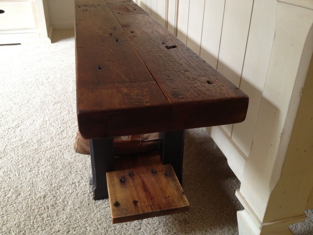 20130312 191637 jpg. Reclaimed Wood Bench   The Coastal Craftsman