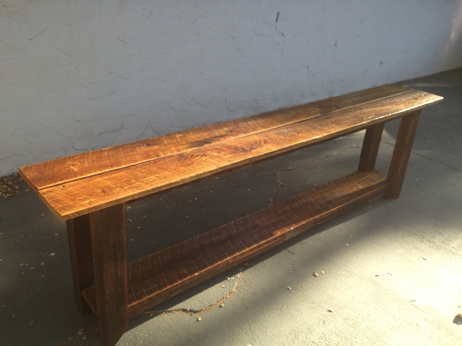 Long Barnwood Table