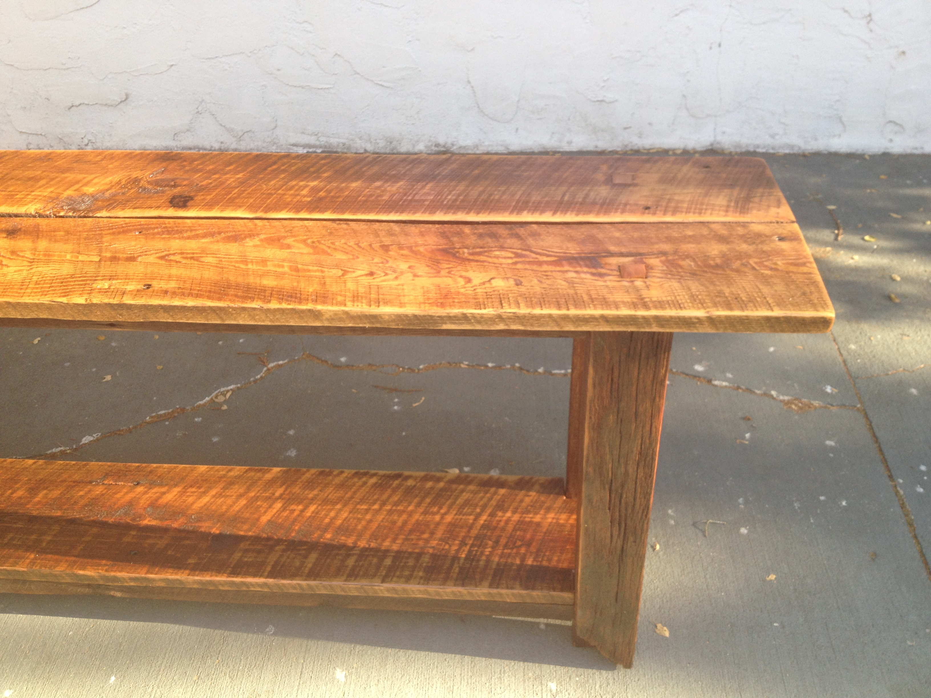 Long Barnwood Table. Long Barnwood Table   The Coastal Craftsman