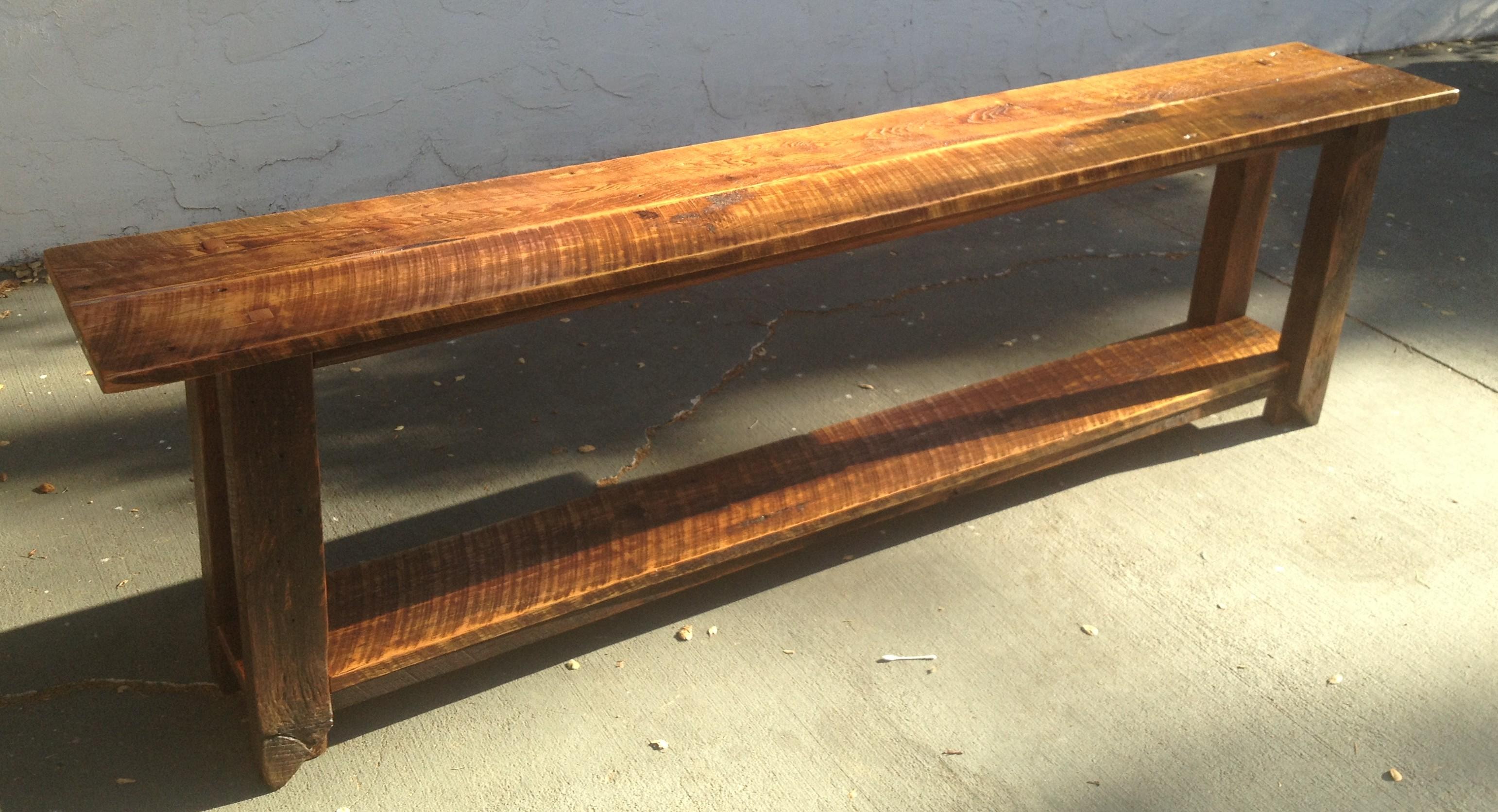 Long Barnwood Table