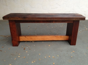 Small Bench - Reclaimed Wood