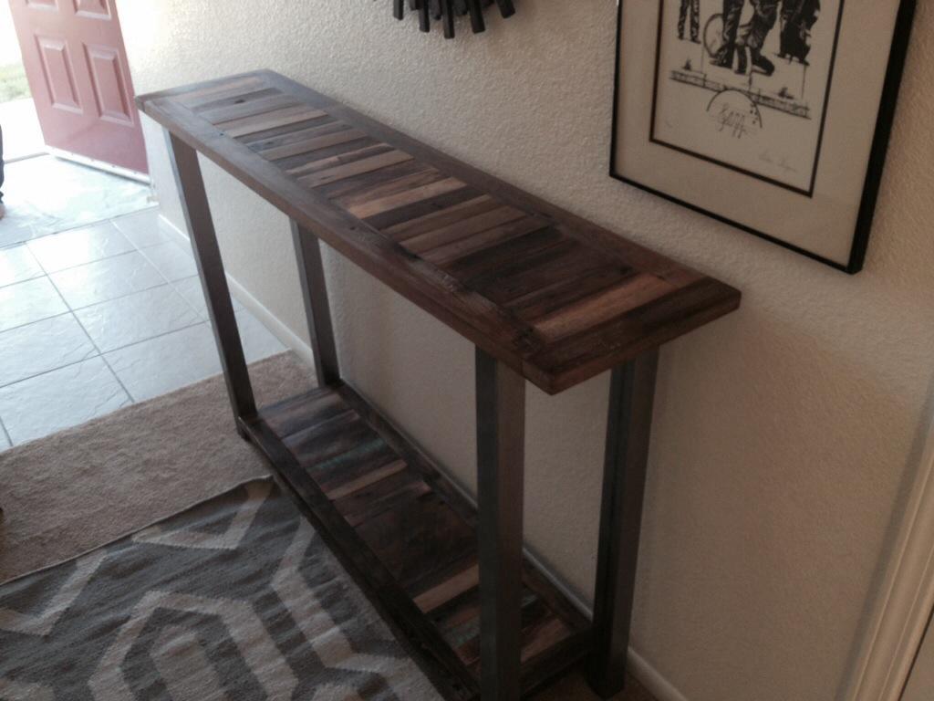 Long Entryway Table long table | the coastal craftsman