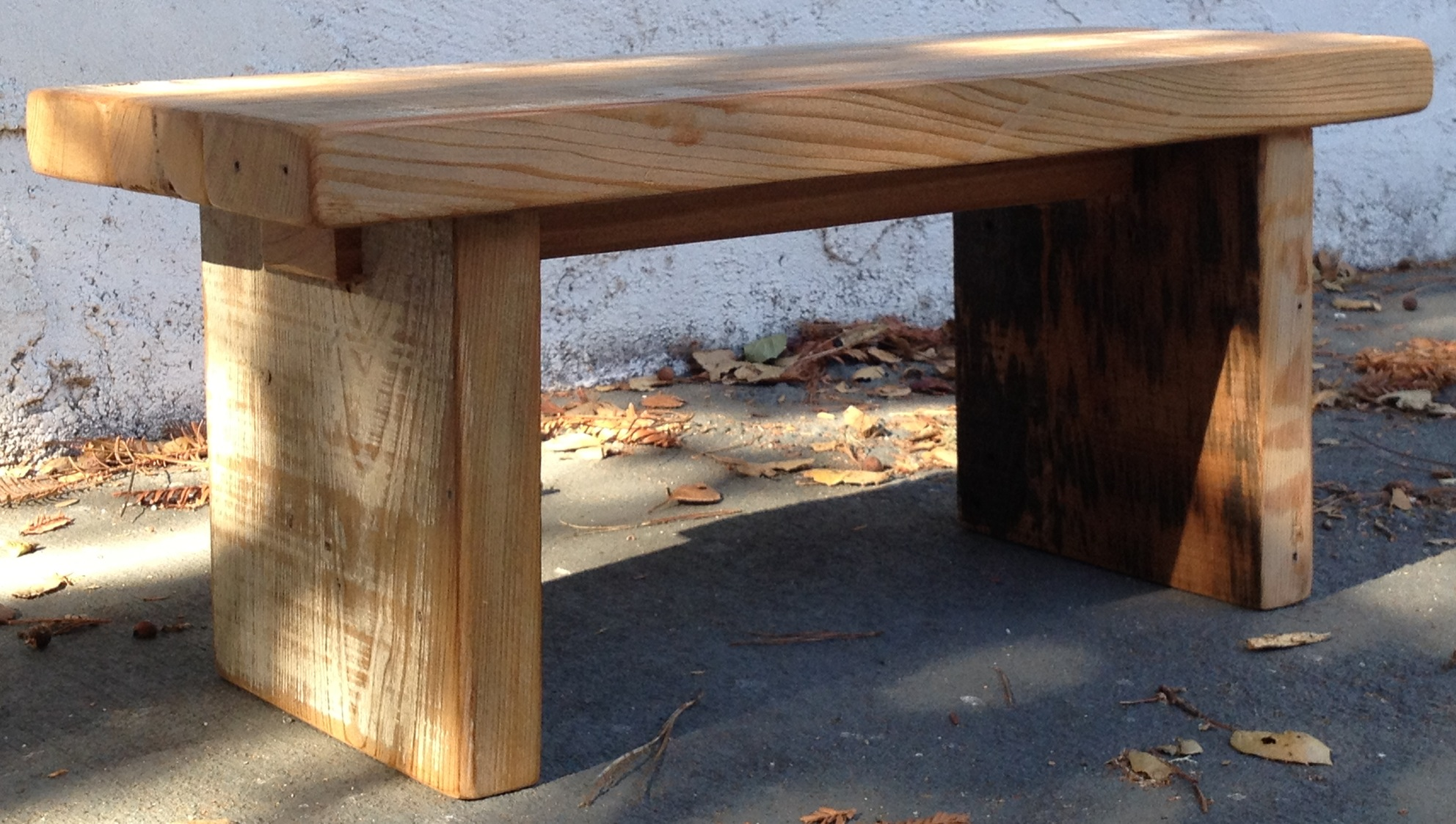 Reclaimed Wood Benches The Coastal Craftsman