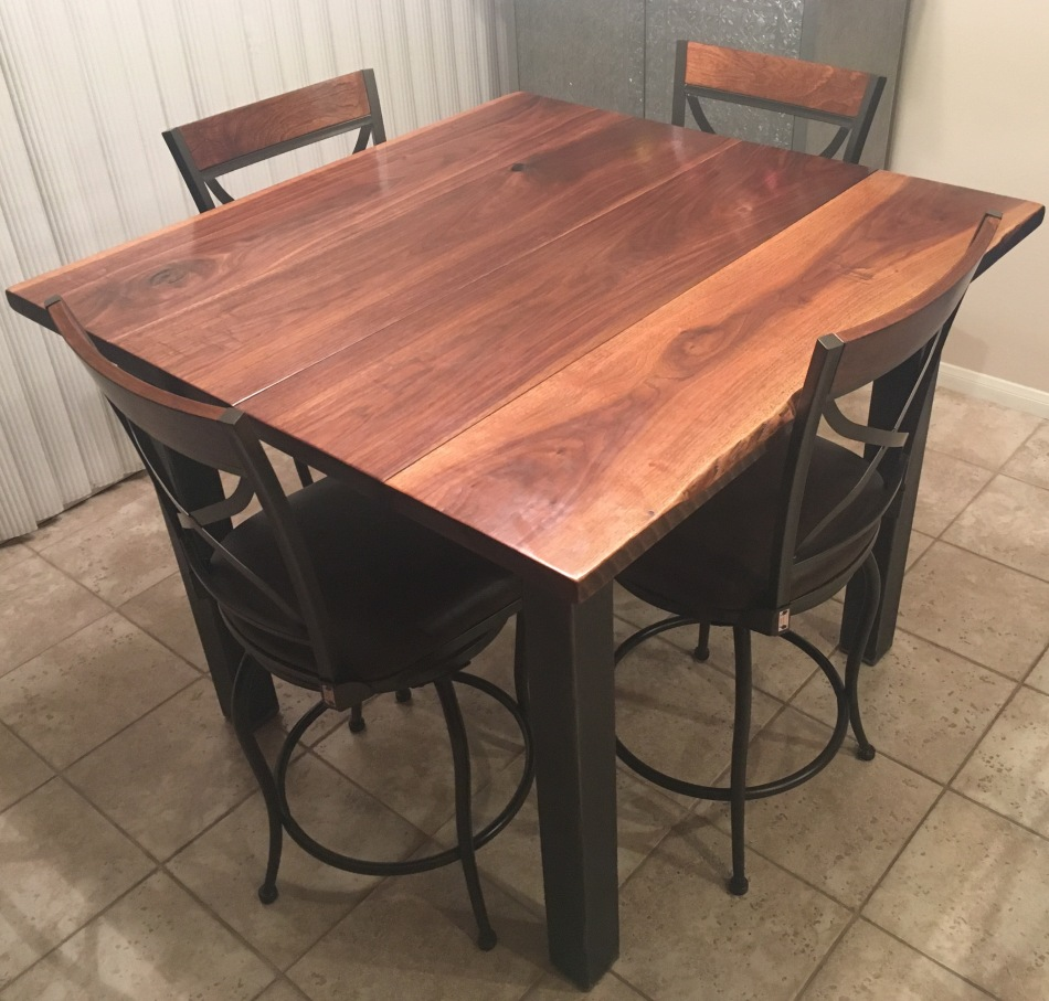 Walnut and Steel Extension Table 002.jpg