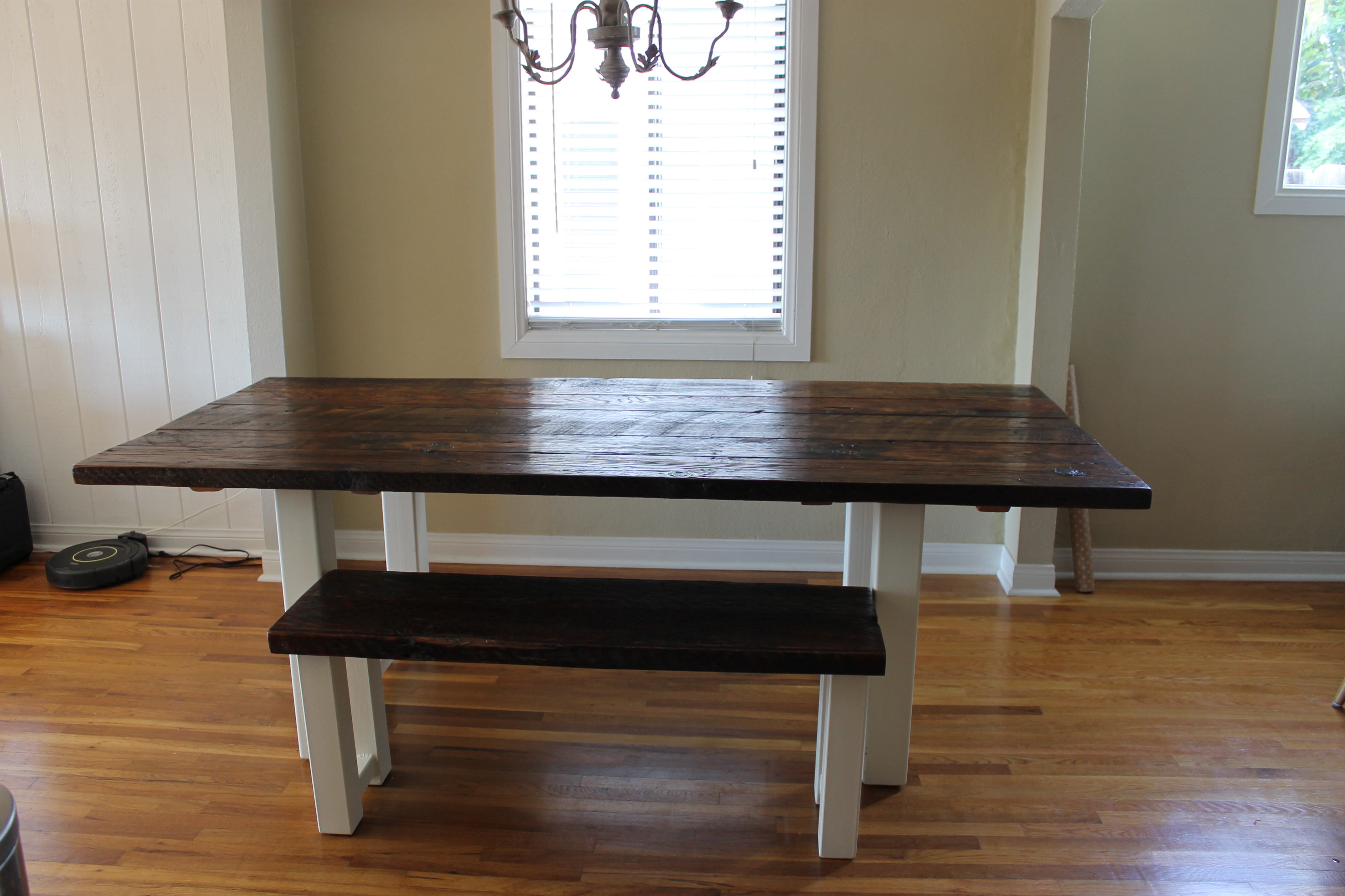 Reclaimed Wood And Steel